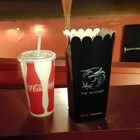 Witcher popcorn