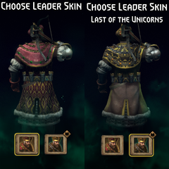 Gwent leader skins back