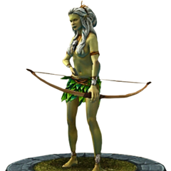 Eithné's character model in TWBA