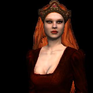 Принцеса Адда у грі «Відьмак».