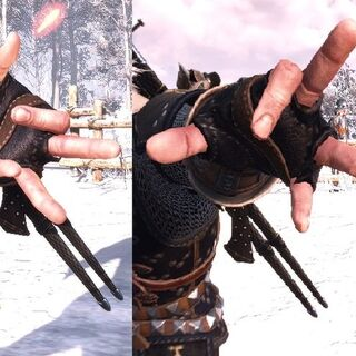 Igni's casting gesture