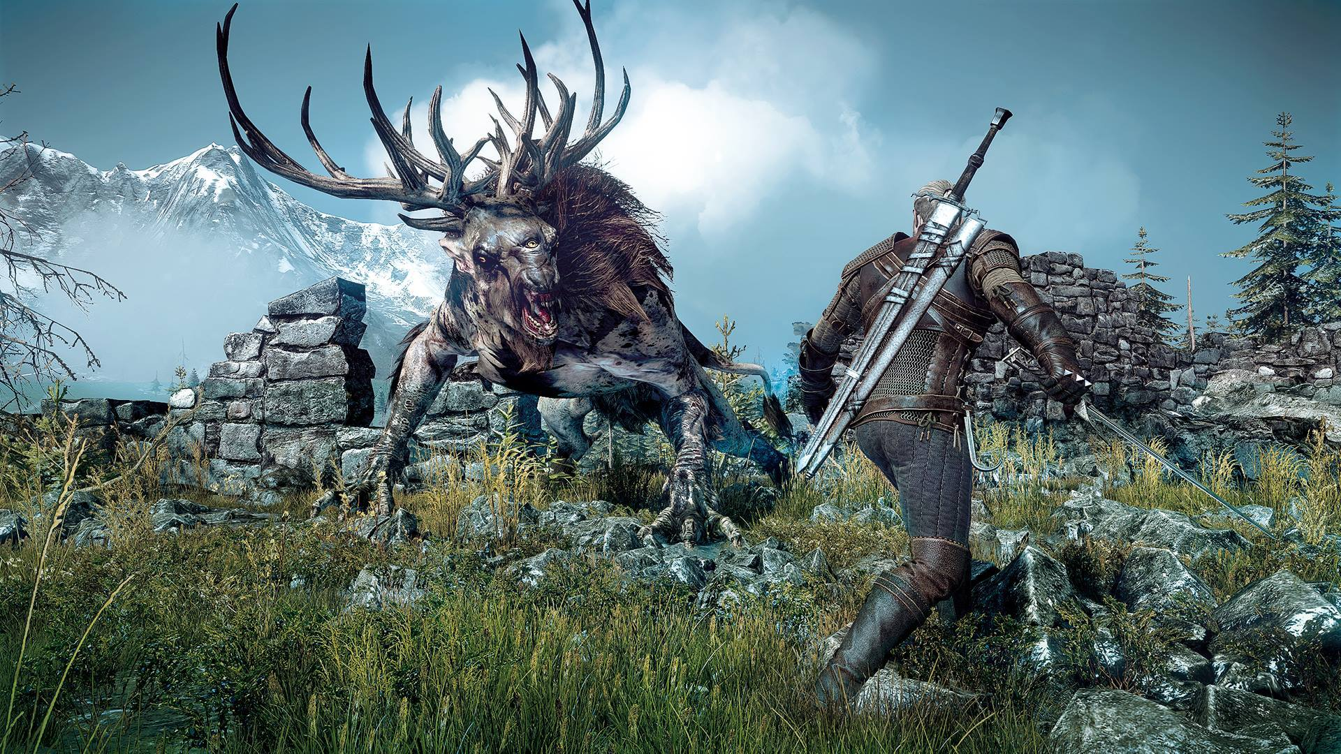Witcher3MonsterCombat