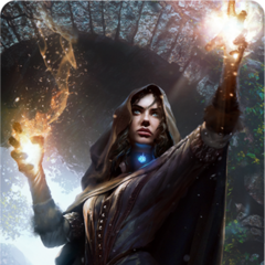 Gwent card art in <i>The Witcher 3</i> and <i><a href=