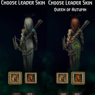 Gwent leader skin back