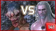 The Witcher 3 - Fighting a Troll Bare-handed! The Champion of Champions 141 PC