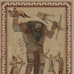 A tapestry in the Kaer Trolde