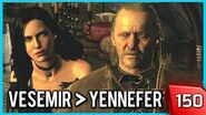 The Witcher 3 - Vesemir Takes no s*** from Yennefer 150 PC