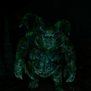 In-game gargoyle