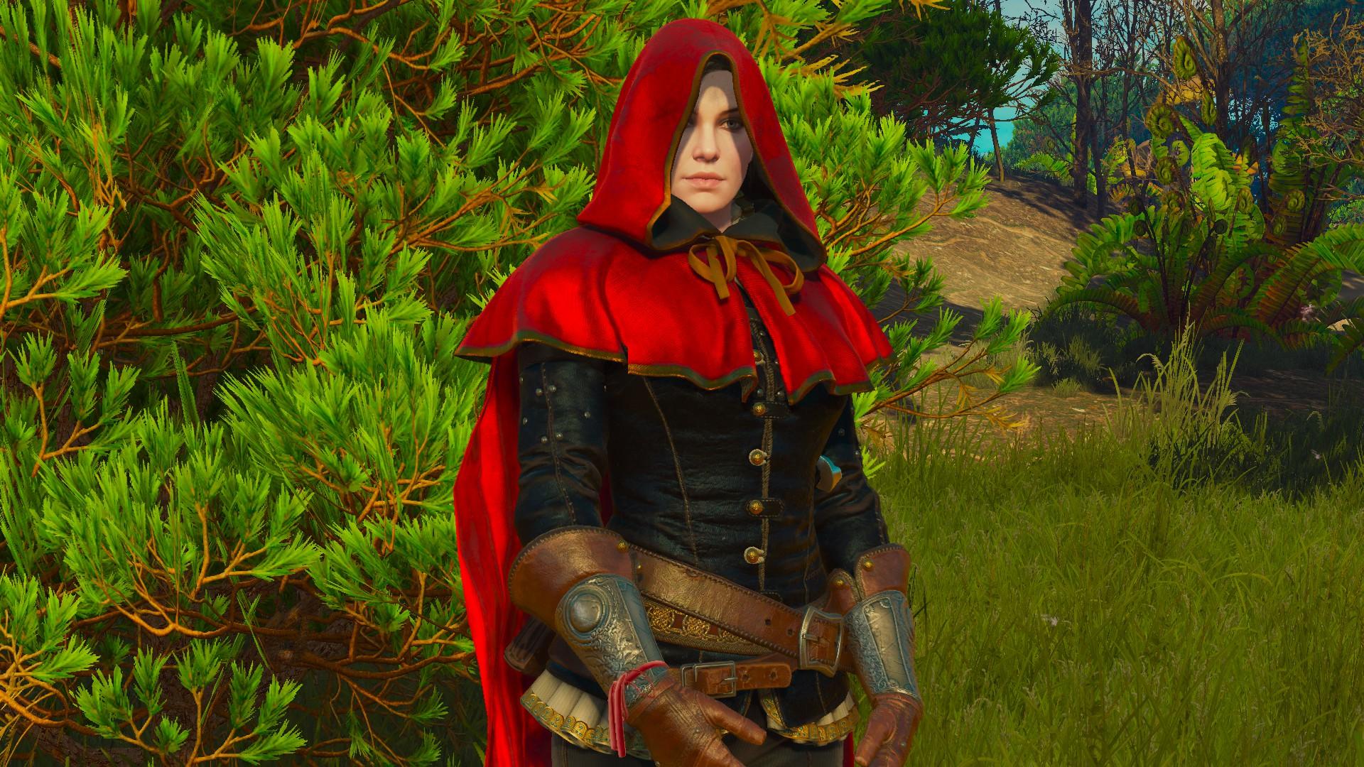 Tw3 Sylvia Anna in hood of Riding Hood
