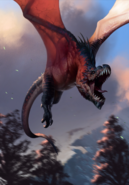 Gwent cardart monsters wyvern