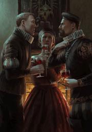 Gwent cardart nilfgaard seditious aristocrats