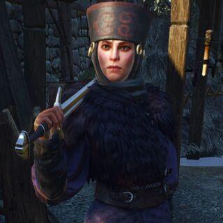 Clan Drummond shieldmaiden