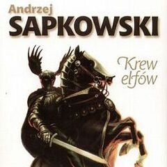 Cahir on the Polish cover of <i>Blood of Elves</i>