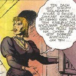 Ренфрі у коміксі «Менше зло»