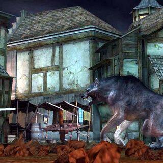 Konfrontacja z Geraltem z Rivii - screen z gry
