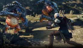 Tw3 fighting rock trolls