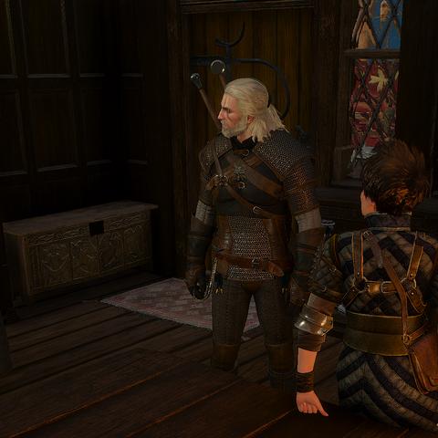 Geralt meets Tamara and Graden