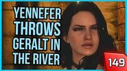 The Witcher 3 - Yennefer Throws Geralt Out in the River 149 PC