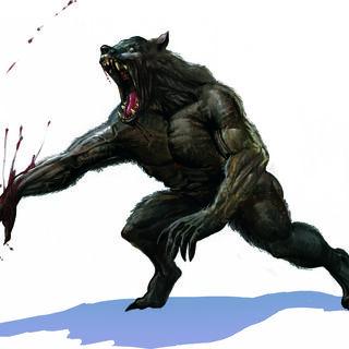 Concept finale del lupo mannaro
