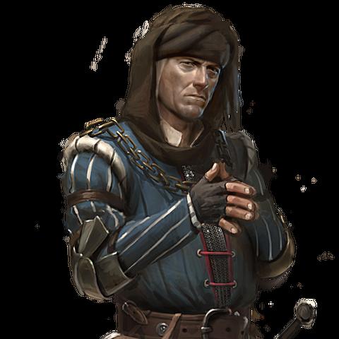 Вернон Рош, концепт-арт до гри Відьмак 2: Вбивці Королів