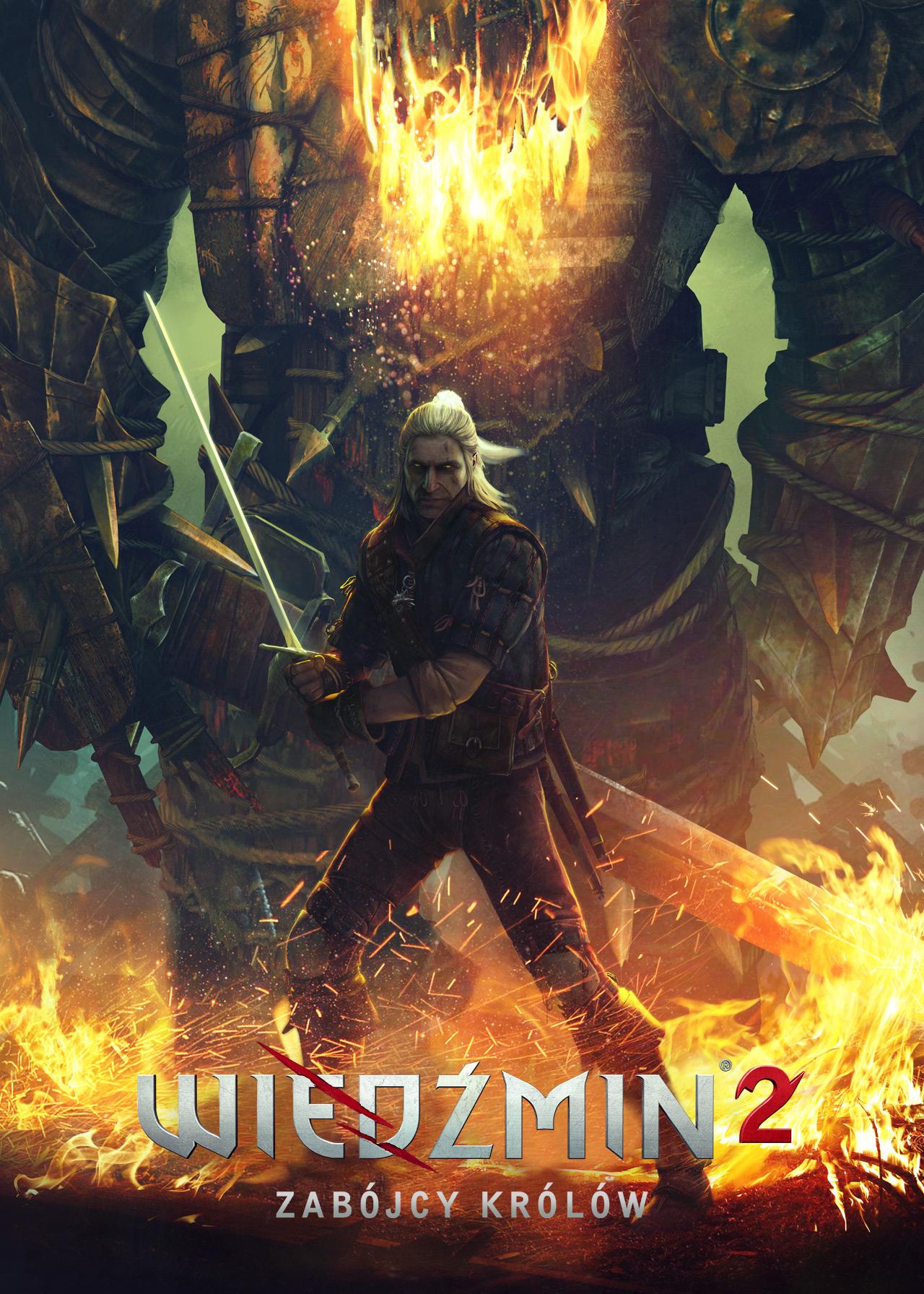 Geralt w ogniu