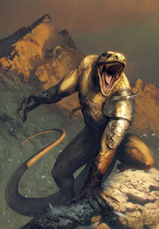 Gwent cardart monsters vran warrior