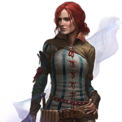 Render of Triss for <i>The Witcher 2</i>