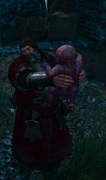 Disgusted baron