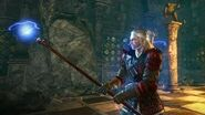Geralt Gets New Toy Uber Magic Staff! (Witcher 2 Operator's Weapon)