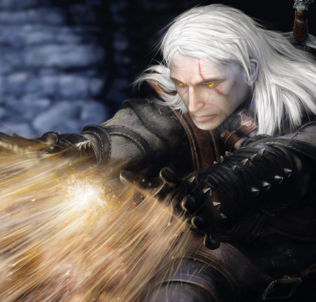 Geralt concept art