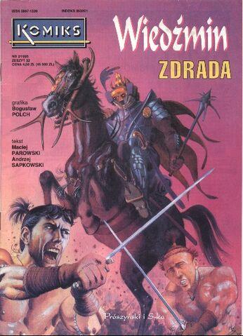 File:Komiks Zdrada okladka.jpg