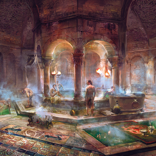 Concept art of interior.