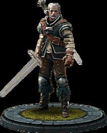 Twba character model Geralt