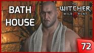 The Witcher 3 - Meeting Dijkstra aka Sigi Reuven in his Bath House - Story and Gameplay 72 PC
