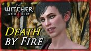 Witcher 3 Saving a Grateful She-Elf (Death by Fire - Both Outcomes)