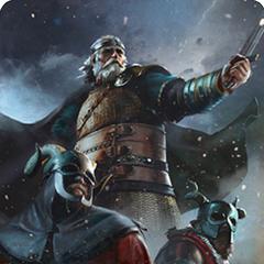 Король Бран у грі «Ґвент: Відьмак. Карткова гра»