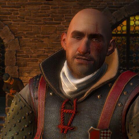 Калеб Менге у грі «Відьмак 3: Дикий Гін»