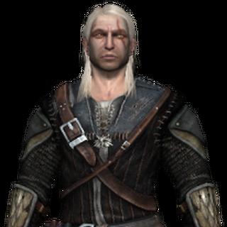 Ґеральт в ельфській броні Крука