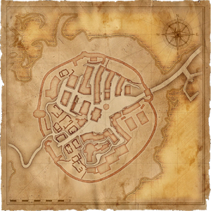 Map Old Vizima