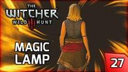The Witcher 3 Magic Lamp - Riddles in the Dark - Story & Gameplay Walkthrough 27 PC