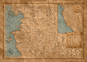 World map Witcher Wiki FANDOM powered by Wikia