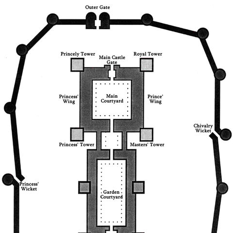Castle in Maribor, map from <i><a href=