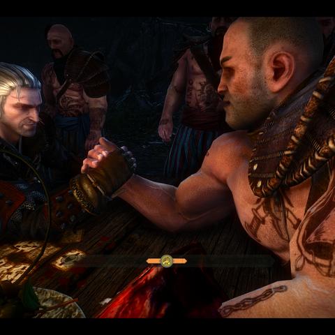 Geralt sfida Myron