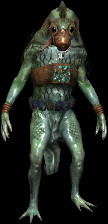 Bestiary Vodyanoi warrior full