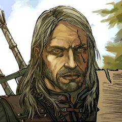 Geralt in the Reasons of State comic book