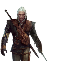 Geralt full model in <a class=