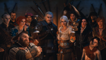 Witcher main characters