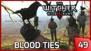The Witcher 3 Blood Ties - My Jedi Powers are Back! Story & Gameplay 49 PC