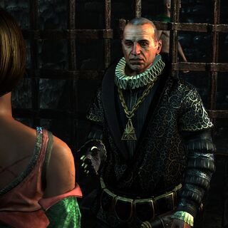 Шілярд в ранній версії гри «Відьмак 2: Вбивці Королів»