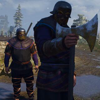 Clan Drummond warrior